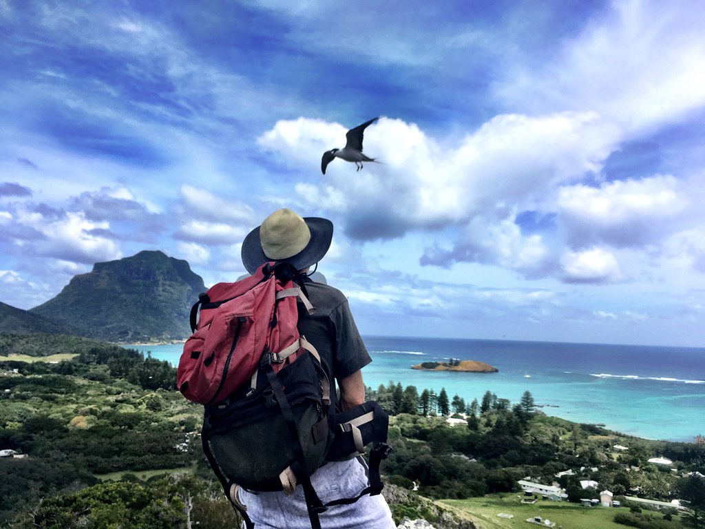 Lord Howe Island. It's you he wants, off yourself to him.