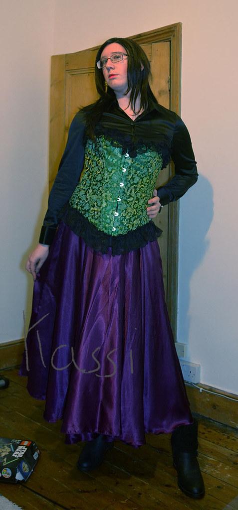 0dec8854a0f5d ... Black satin blouse