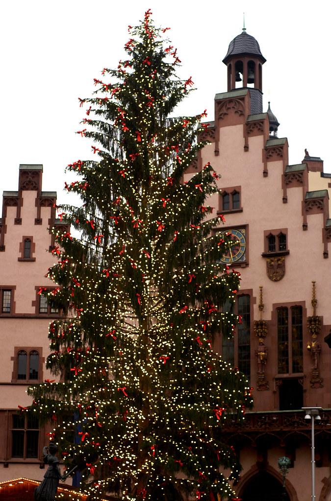 Weihnachtsbaum Frankfurt.Frankfurt Weihnachtsbaum Vor Dem Römer Christmas Tree At Flickr