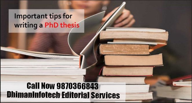 Best Tips for Writing PhD Thesis India 9870366843