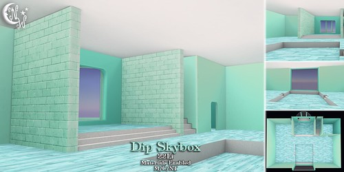 *NW* Dip Skybox - Teal | by NeverWish