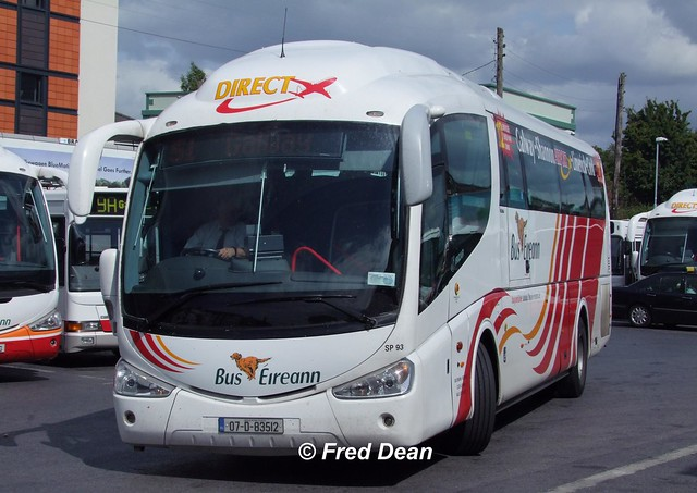 Bus Eireann SP93 (07D83512).