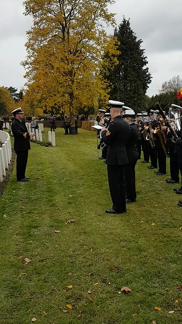 Mons Community Cemetery - Service of Remembrance 11.00am 11th November 2018