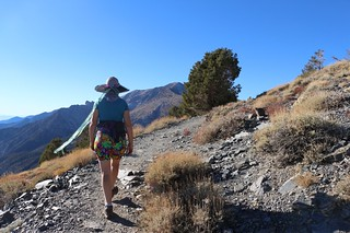 0786 The Telescope Peak Trail keeps climbing and the summit comes into view as we round a corner | by _JFR_
