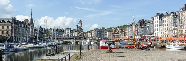Panorama - Honfleur, Normandie, France - 0299
