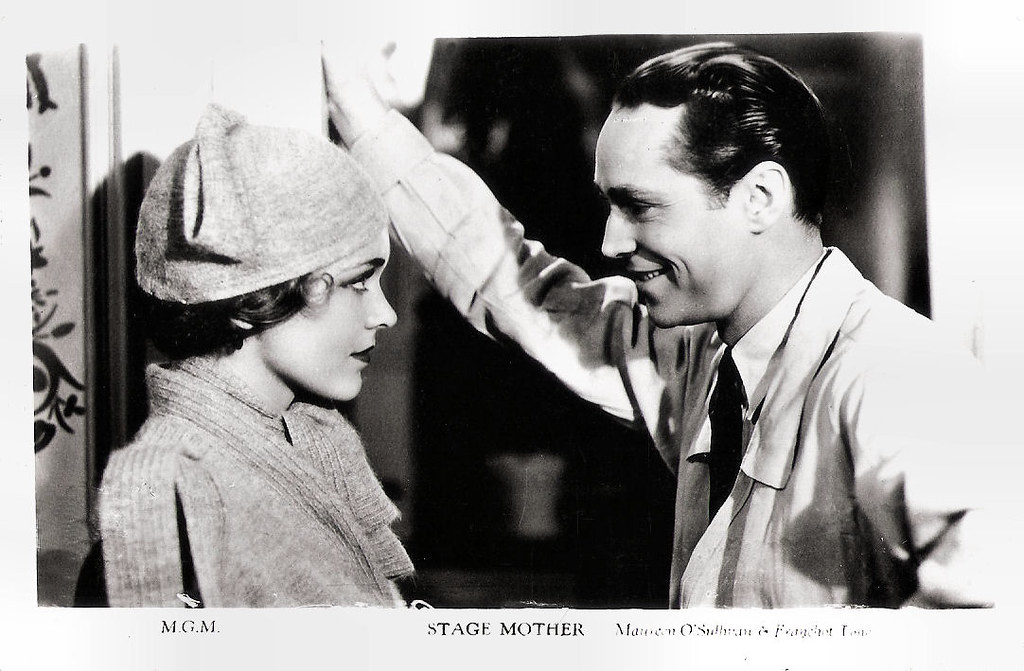 Maureen O'Sullivan and Franchot Tone in Stage Mother (1933…   Flickr
