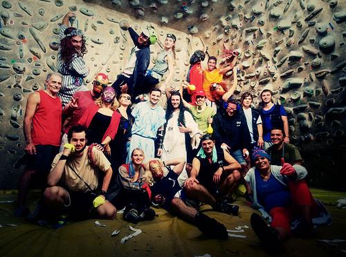 Fantasyclimbing corso di arrampicata il deposito di zio Paperone 62