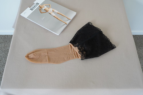 Wolford Lace Belt and Stockings 14