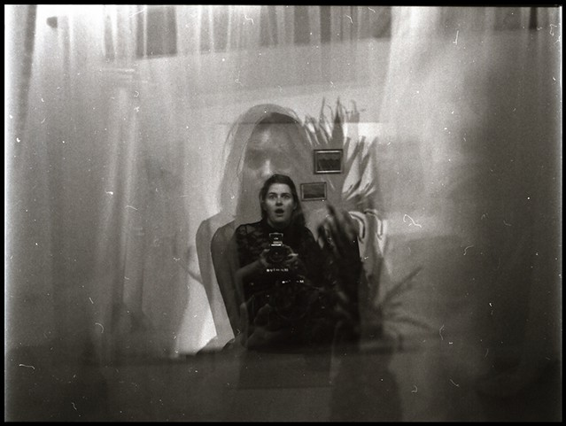 Self-Portrait with Pineapple