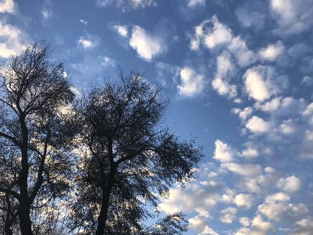 Nuvole nel cielo romano