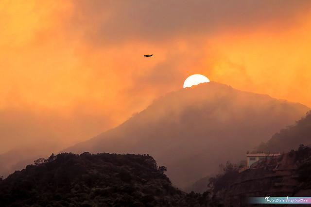 Misty Sunset at Sham Tseng, Hong Kong *A Beautiful Nature*