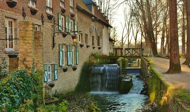 'Moulin à aubes de Lindekemale'  Woluwe-St-Lambert