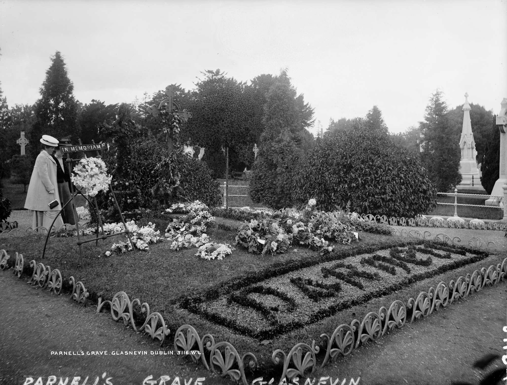 Parnell's Grave, Glasnevin, Co. Dublin