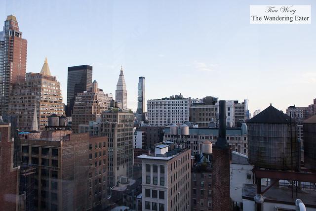 View of southeast Manhattan