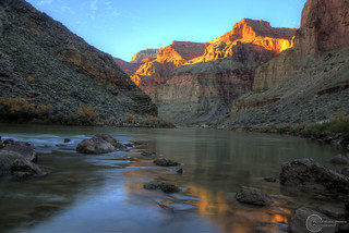 Upstream from Fossil Camp | by pmbrmtrr