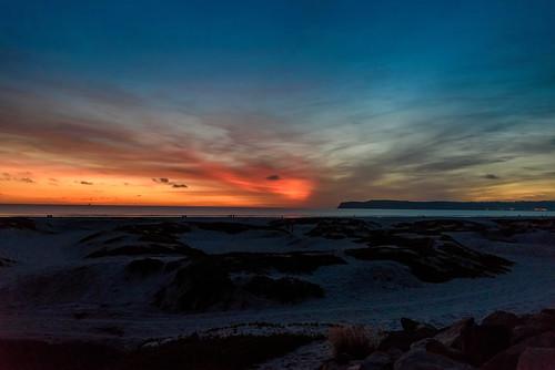 sunset sandiego delcoronado california sanddunes martinsmith ©martinsmith nikond750 nikkor2485mmf3545gedvr coronado unitedstates us