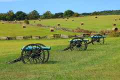 Civil War Artillery, Pea Ridge National Military Park - Benton County, Arkansas
