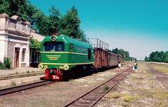 Südzufuhrbahn / Southern Feeder Railway: TU2-274 with haivoron-Rudnytsia market train at Dokhno