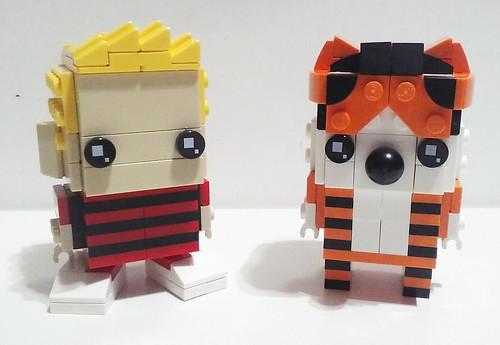 Calvin and Hobbes Brickheadz
