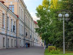 Tomsk city street near Siberian State Medical University