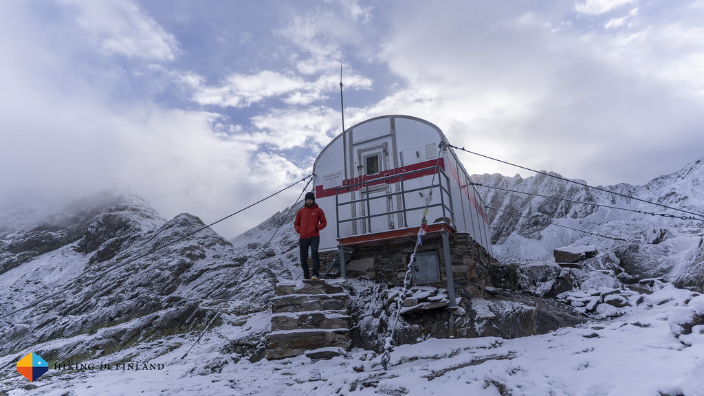 At the Baiau Bivouc Hut