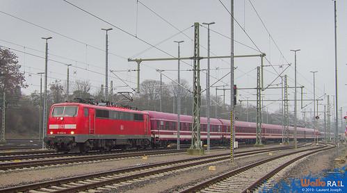 111 032 DB E13460 Aachen West 7 janvier 2019 laurent joseph www wallorail be