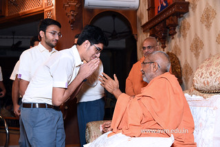 Std-10-11-12-visit-to-Haridham-for-Swamishree's-Blessings-(49) | by Atmiya Vidya Mandir