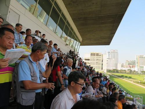 ロイヤルバンコクスポーツクラブの観客