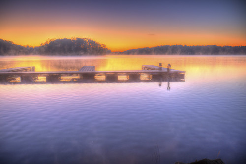 2018 gainesville georgia hall places ronmayhew littlehallpark sunrise hdr lakelanier dock water shoreline fog canoneos5dmarkiv