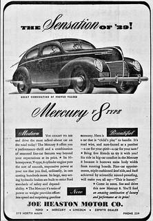 1939 Mercury 8 Sedan