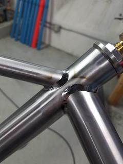 Dave H Ti   by Zanconato Custom Cycles