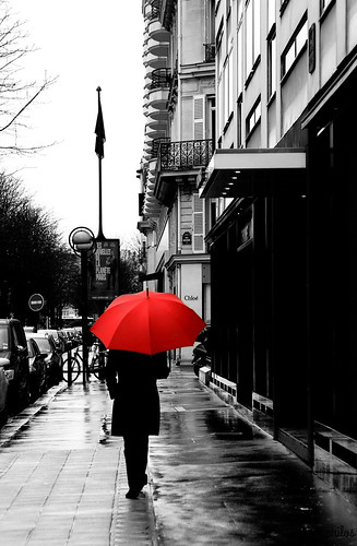 the man with the red umbrella | by philos from Athens
