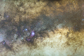The center of the Milky way | by davidcl0nel