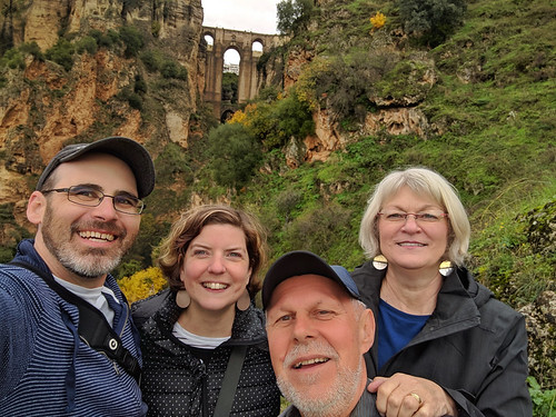 the fam below the Puente Nuevo | by tlkativ