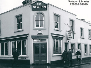 1970: The New Inn on Cromwell Street, Swindon | by Local Studies, Swindon Central Library
