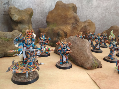 Thousand Sons - Rubic Marines and Sorcerers00002 | by Wargaming Mamas