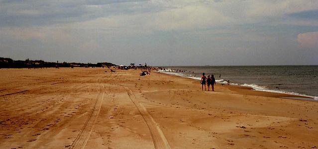 beach at cape henlopen delaware