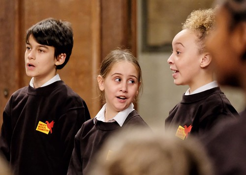 Children from the Pimlico Musical Foundation Choir | by The National Churches Trust