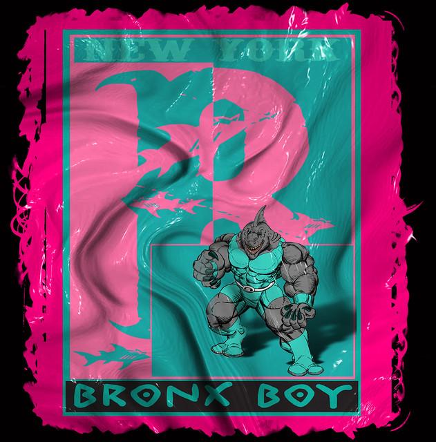 Bronx Boy Splatter Patch By Bobby Boggs