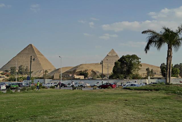 Pyramiden von Gizeh - Kairo
