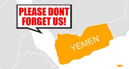 yemen dont forget