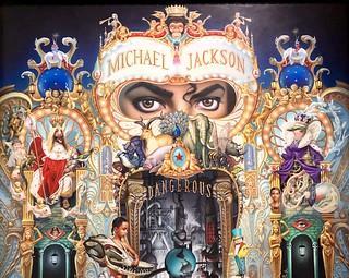 """"""" The King of Pop """" (# 135) - Le Roi de la Pop, 1991-2018, Mark Ryden"""