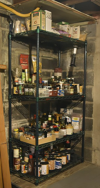 Pantry In The Basement