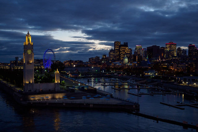Vieux port - Montreal, Canada