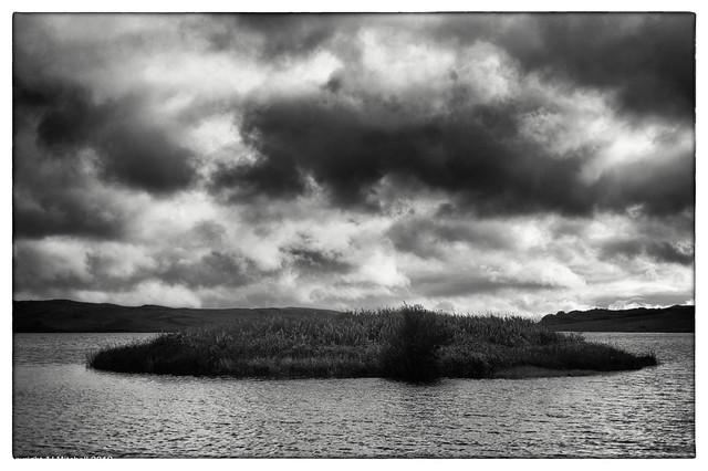 Loch Finlaggen's Iron age Dun or Broch