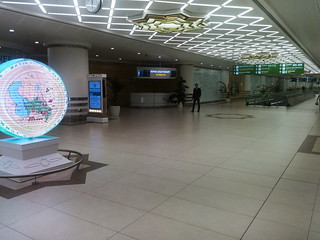 Aşgabat International Airport, Departure Terminal | by Timon91