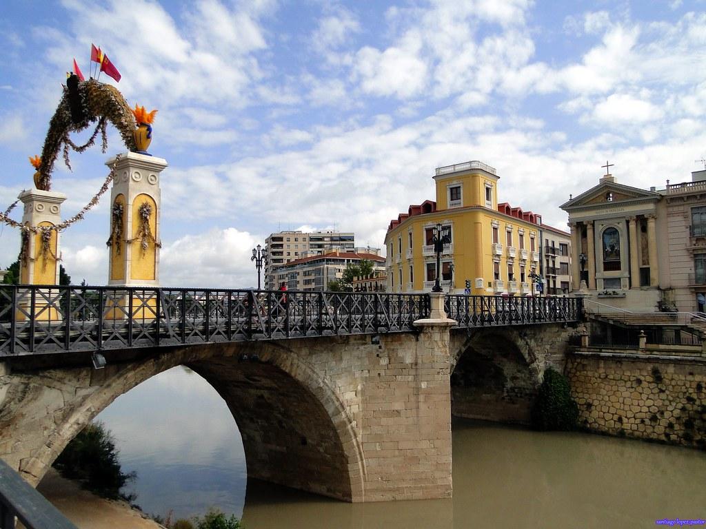 Murcia | El puente de los Peligros o puente Viejo es un puen… | Flickr