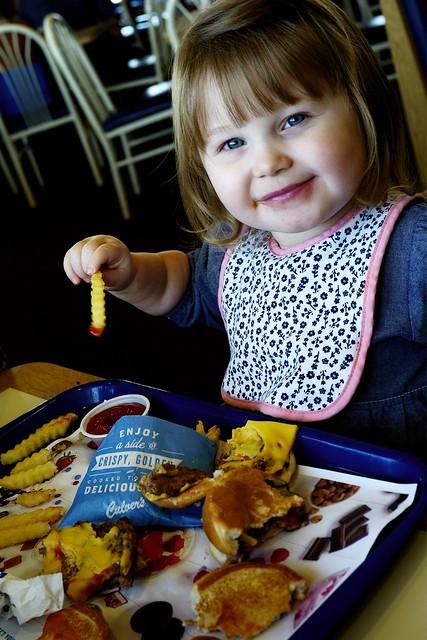 The Butter Burger Girl