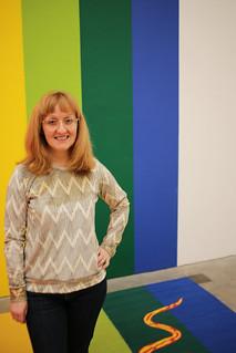 Linden Sweatshirt at the Ikon Gallery   by English Girl at Home