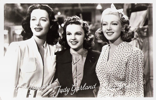 Hedy Lamarr, Judy Garland and Lana Turner in Ziegfeld Girl (1941)